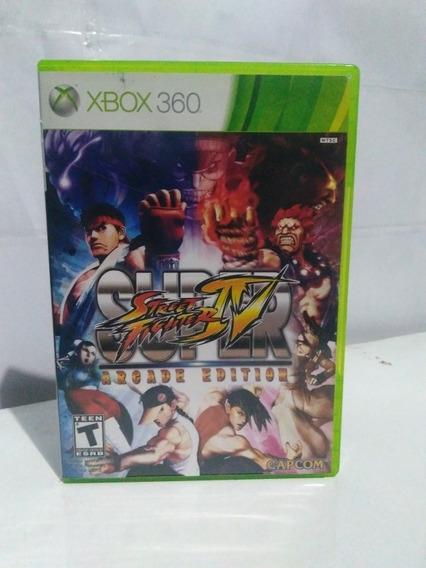Jogo Street Fighter 4 Arcade Edition Xbox 360 R$79,90