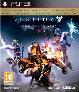 Destiny The Taken King Juegos Ps3 Baratos