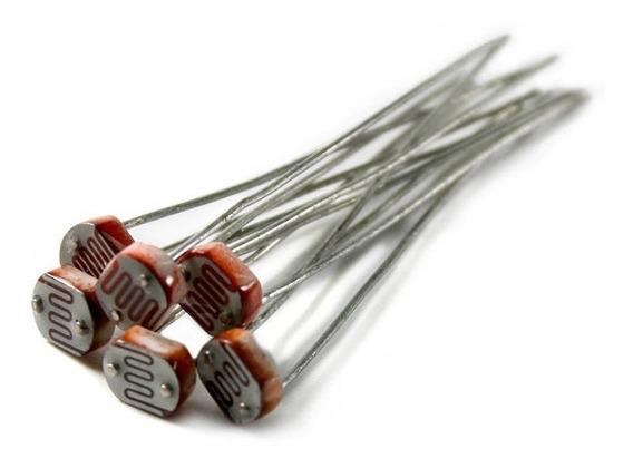 20 unids Photoresistor 5mm,LDR Resistores de Foto Resistencia Dependiente de la Luz GL5537