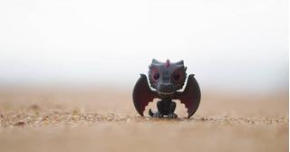 Llavero Funko Pop Dragón Drogon Game Of Thrones