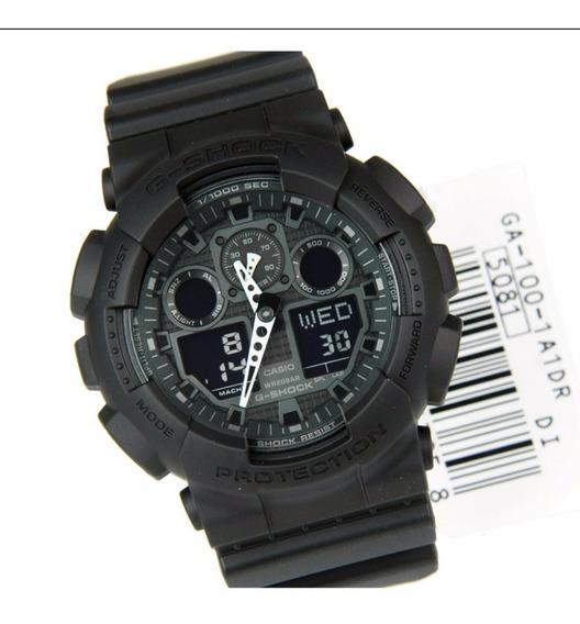 Relógio G-shock Ga 100 Wr200 12meses Garantia