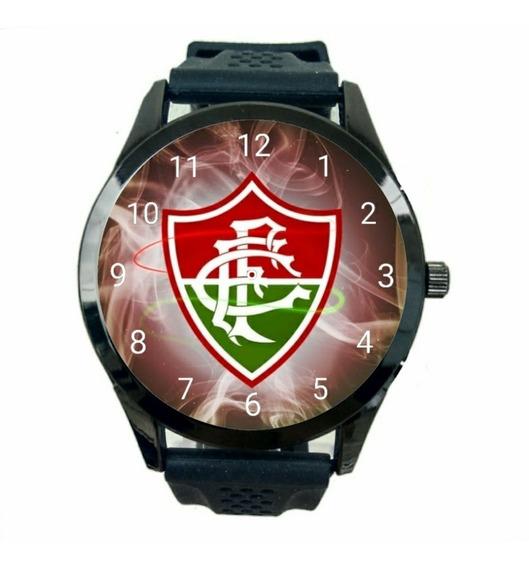 Relogio Fluminense Feminino Futebol Club Esporte Novo T287