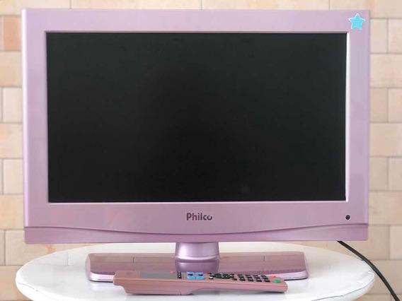 Tv Philco Rosa 20 Polegadas