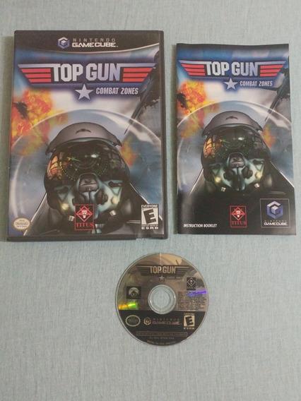Game Cube: Top Gun Combat Zones Original Americano Completo!