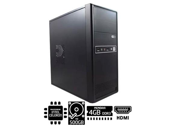 Computador Intel Celeron G530 2.4 Ghz 4gb Ddr3 Hd 500gb