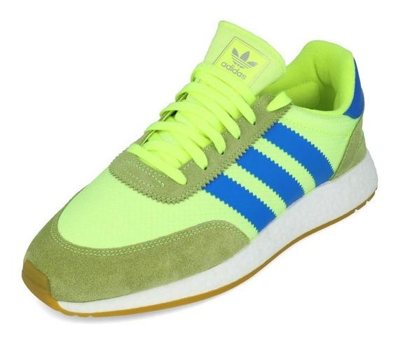 Tênis adidas Iniki I-5923 Green Volt True Blue