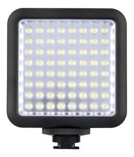 Luz continua tipo panel Godox LED64 blanca fría