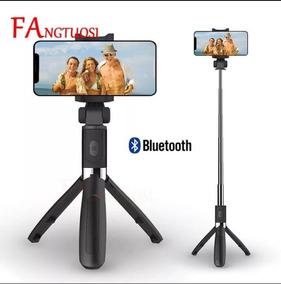 Mini Tripé / Vara De Selfie Com Controle Remoto Bluetooth