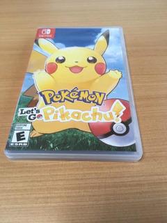 Pokemon Lets Go Pikachu Juego Fisico