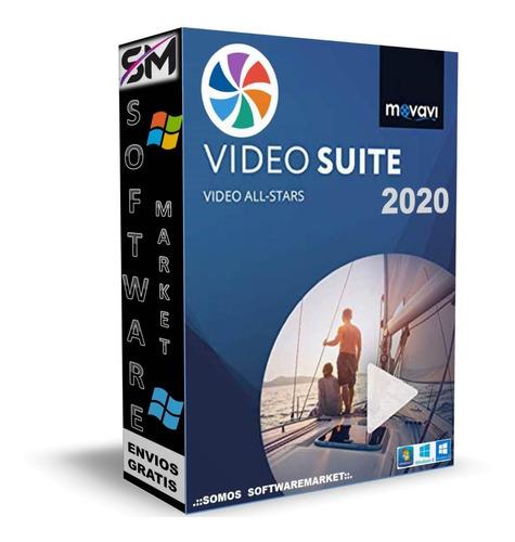 Suite Movavi  2020 - Poderoso Editor De Video