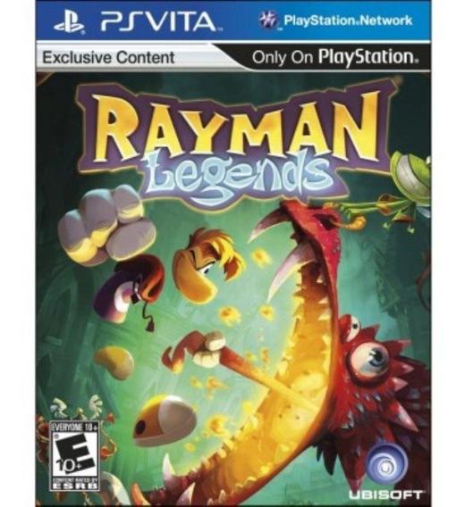 Rayman Legends (sem Caixinha) Ps Vita | Mídia Física