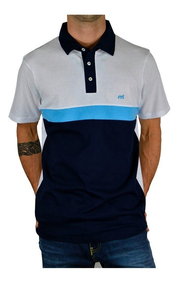 Playera Tipo Polo Combinada Especiales Incluye Bordado