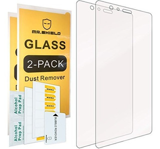 2pack Mr Shield Para Huawei P9 Plus Vidrio Templado Protecto