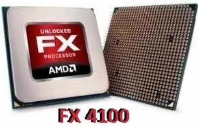 Processador Amd Fx 4100 + Cooler Original + Pasta Termica