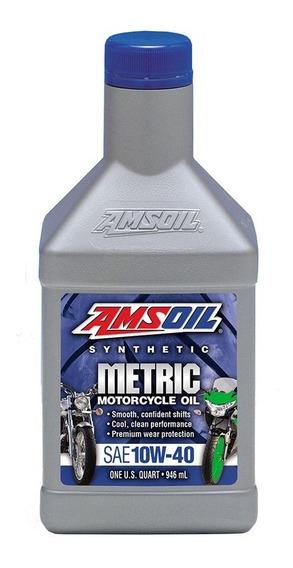 Aceite Sintetico Amsoil Motos Motor Tipo Yamaha 10w-40 946ml