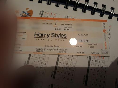 Entrada Platea Alta Para Harry Styles  25/05/18