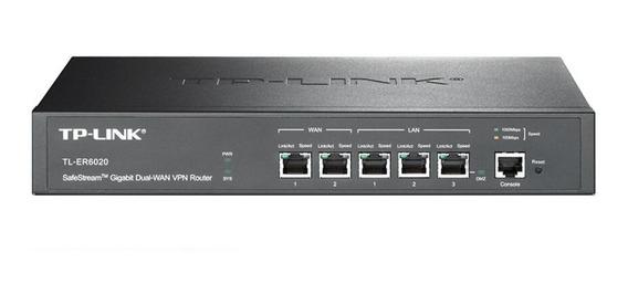 Router TP-Link SafeStream TL-ER6020 negro 100V/240V 1 unidad