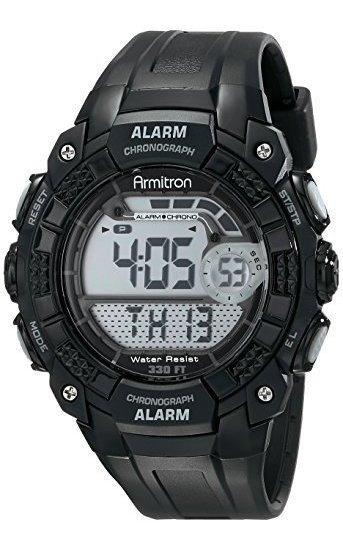 Armitron Sport 408209blk Reloj Digital Para Hombre
