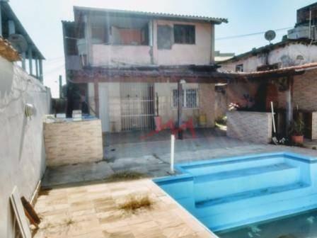 Casa Com 2 Quartos À Venda, 75 M² Por R$ 310.000 - Laranjal - São Gonçalo/rj - Ca0095