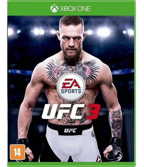 Ufc 3 Xbox One, Novo, Lacrado, Mídia Física.