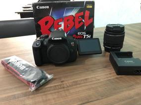 Kit Câmera Canon T3i (câmera + Lente 18-55mm + Acessórios)