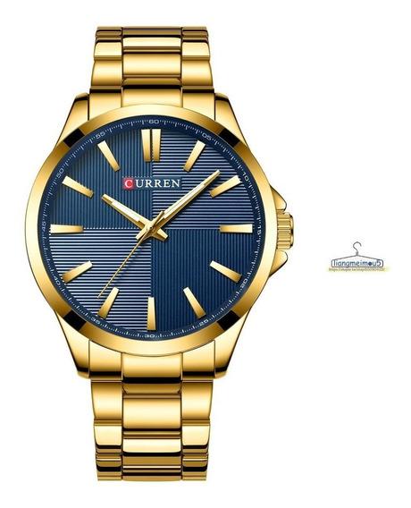 Reloj Análogo Vestir Curren 8322 Caballero Acero Inoxidable
