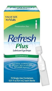 El Refresh Plus Lubricant Eye Drops 70ct Envíos Gratis