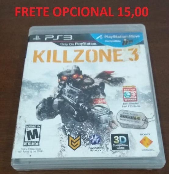 Killzone 3 - Original - Mídia Física Ps3