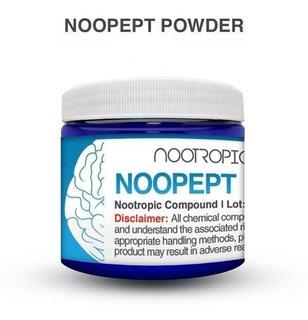Noopept 5g Nootrópico Puro Importado Dosador Pronta Entrega
