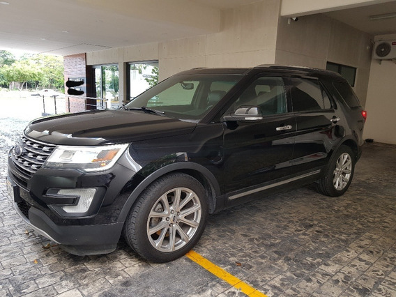 Ford Explorer Limited Fwd V6 2016 Negra