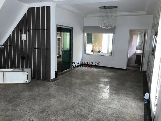 Sobrado 220m² Residencial À Venda, Mooca, São Paulo. - So0131