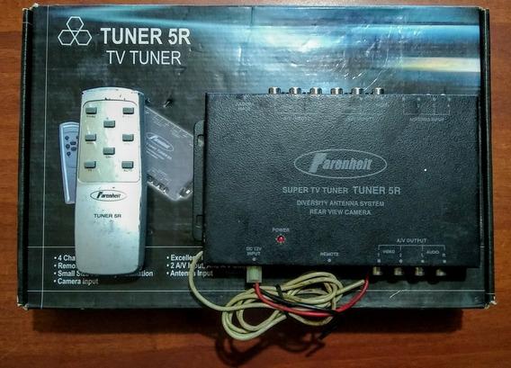 Tv Tuner Usado En Buen Estado Con Su Control Remoto