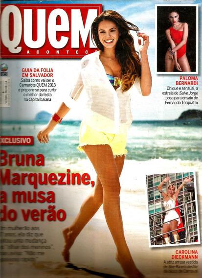 Revista Quem 648/13 - Marquezine/xuxa/paloma/beyoncé