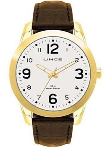 Relógio Masculino Pulseira De Couro Lince Mrc4061s B2mx