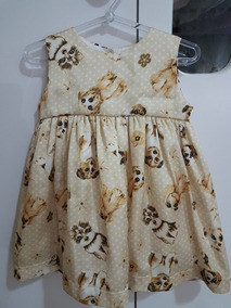 Vestido Bebê Tamanho Gg