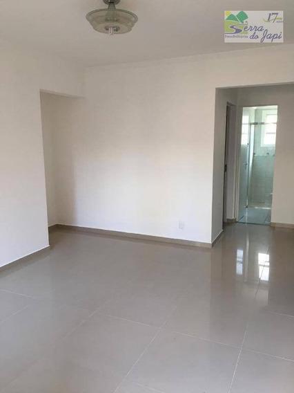 Apartamento 2 Dormitórios Para Alugar, 58 M² Por R$ 900/mês - Eloy Chaves - Jundiaí/sp - Ap3592