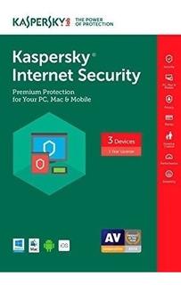Licencia Original De Kaspersky Internet Security 2 Años
