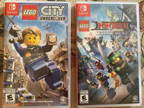 Lego Ninjago + City Undercover Nintendo Switch