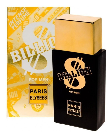 Perfume Billion Masculino Paris Elysees 100 Ml