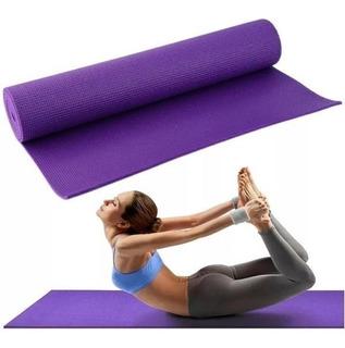 Colchoneta Mat Yoga 10mm Calidad Mejorada, Sujetador , Bolso