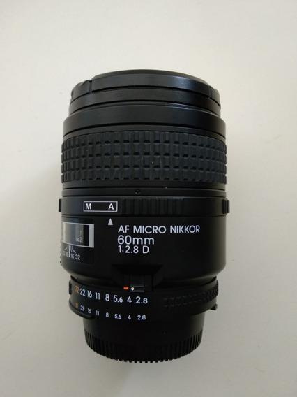 Lente Nikon Macro Af 60mm 2.8