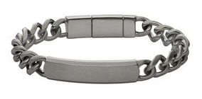 Pulsera Caballero Fossil Dress Jf02218001 Color Gunmetal