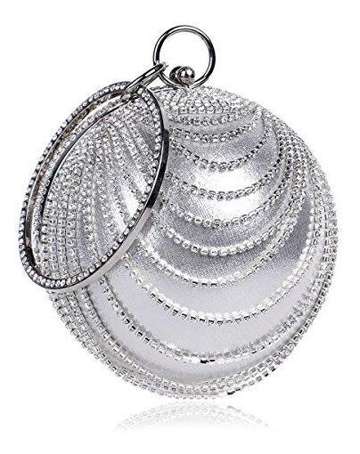 Flada Bolso De Mano Para Mujer Con Forma De Bola De Cristal,