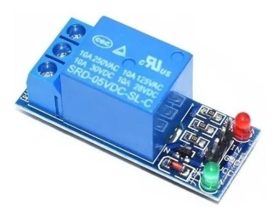 Modulo Rele 1 Canal 5v Arduino Pic Arm Raspberry Pi