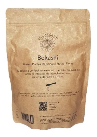Fertilizante Yes We Grow Bokashi Sólido 250g