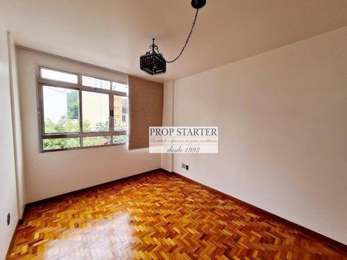 Imagem 1 de 11 de Apartamento Com 1 Dormitório Para Alugar, 30 M² Por R$ 1.350/mês - Vila Buarque - Prop Starter Adm. Imóveis - Ap0844