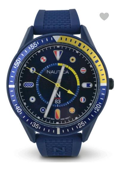 Reloj Náutica Original Azul Marino