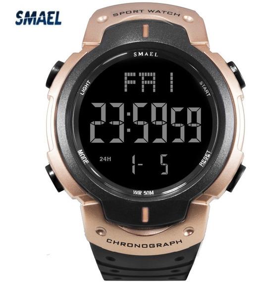 Relógio Smael 0915 Militar Digital Original Promoção !!!