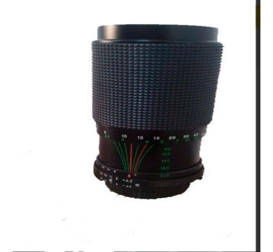 Lentes Fotografica F=80-200mm F.2,8d