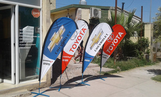 Banderas Gota Publicitarias